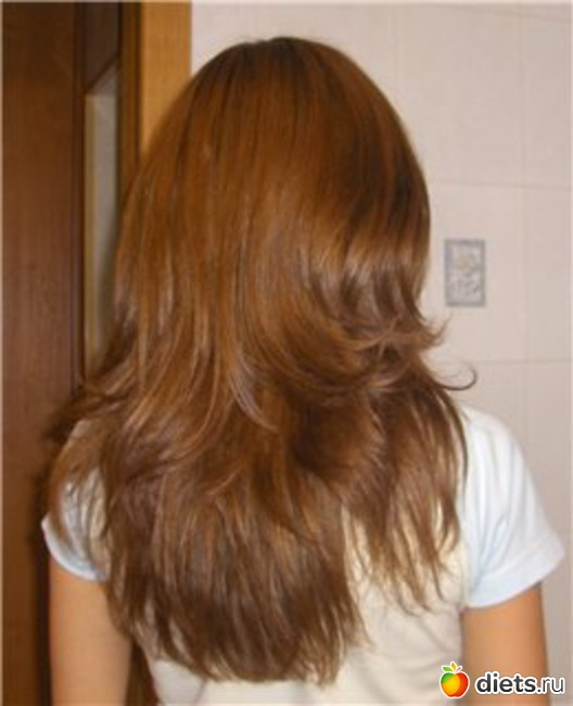 Я хочу сделать стрижку каскад на длинные волосы.