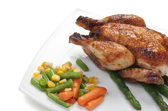 здоровое питание курица на гриле