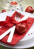 Романтический ужин в день влюбленных
