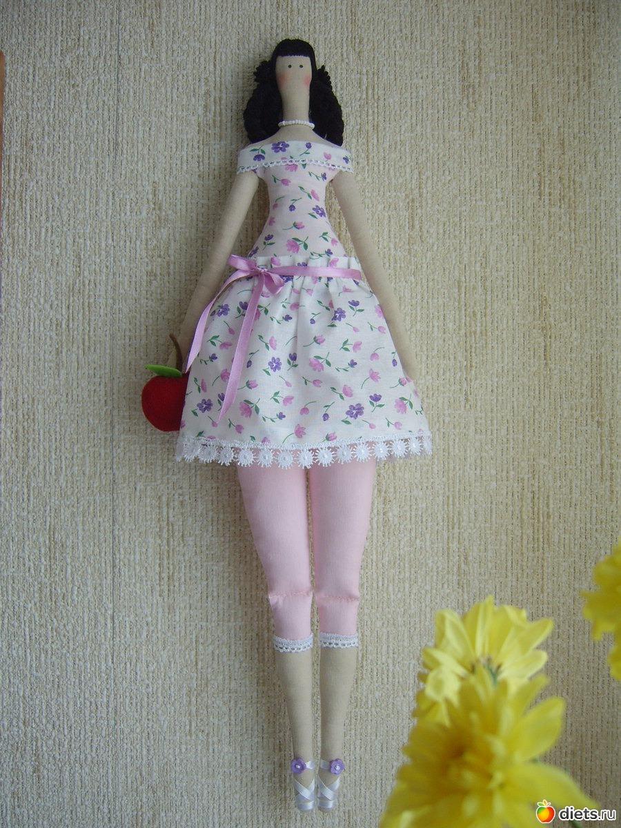 Из какого материала сшить куклу тильду