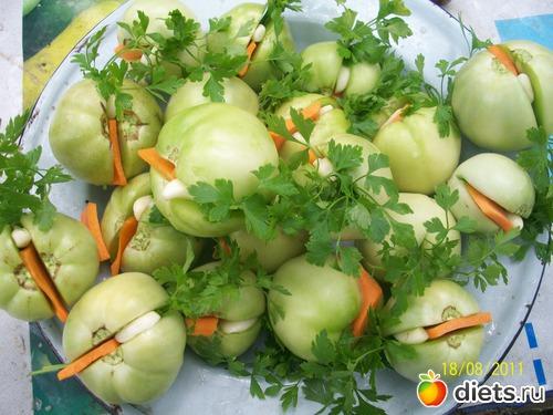 Рецепты заготовок из зеленых помидоров