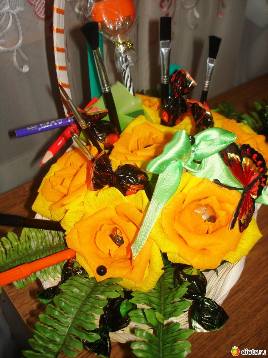 Какие цветы на 1 сентября подарить учителю? Советы флориста 54