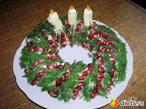 Украшаем новогодние блюда своими руками фото