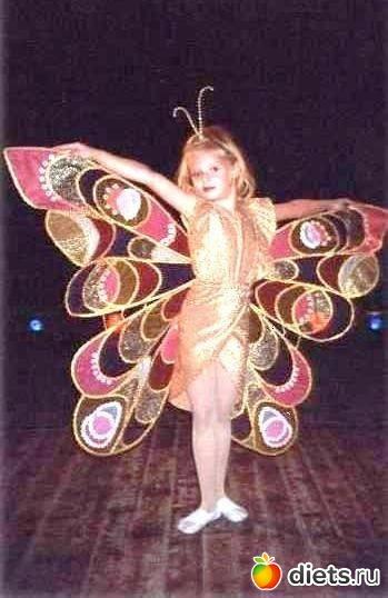 Костюм бабочки своими руками с