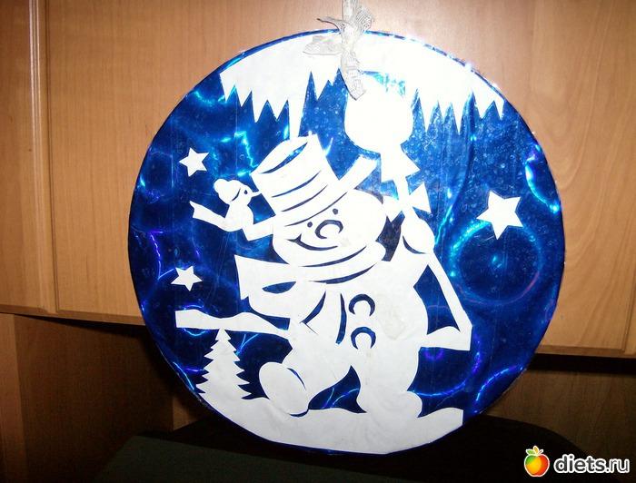 Новогодняя непромокаемая игрушка своими руками на конкурс