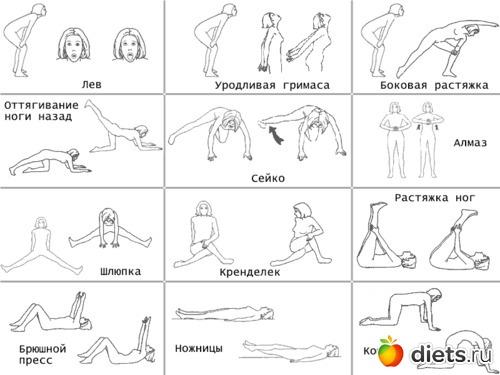Эффективные упражнения для всего тела в домашних условиях видео