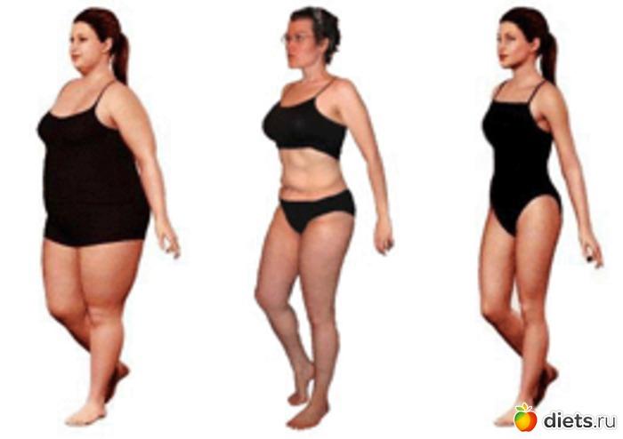 Как поэтапно похудеть