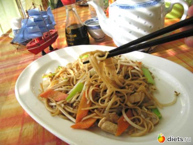 Китайская лапша рецепт с фото.