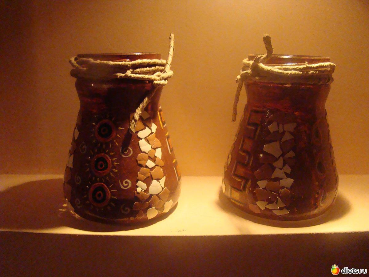 Поделки из баночек из-под кофе 29