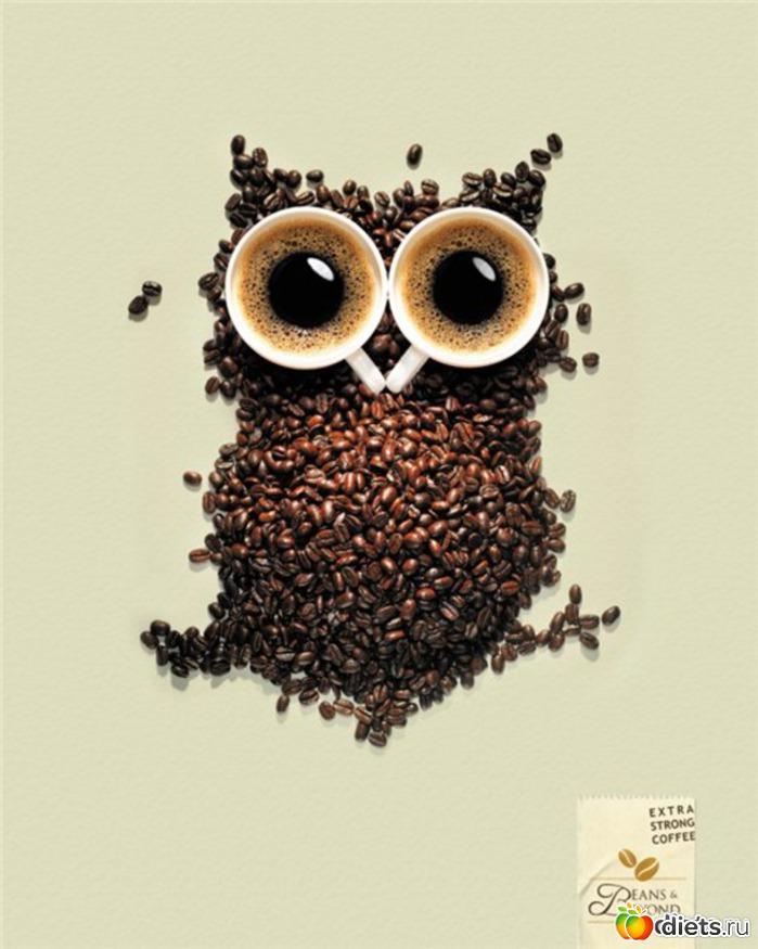 Красивые рисунки из кофе