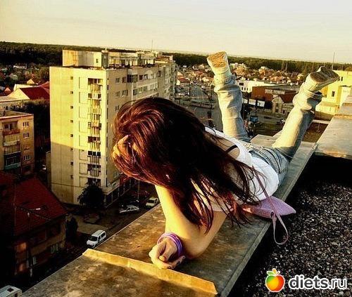 На крыше на аву