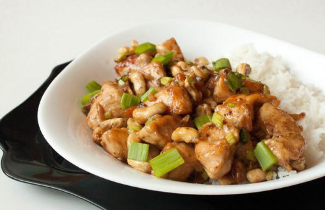 здоровое питание курица с цветной капустой