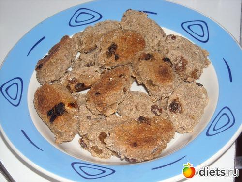 Постное овсяное печенье с бананом рецепт с пошагово