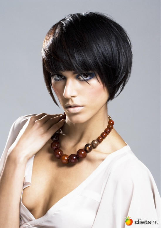 Hair black bauble - Hairstyles Hair Photo.
