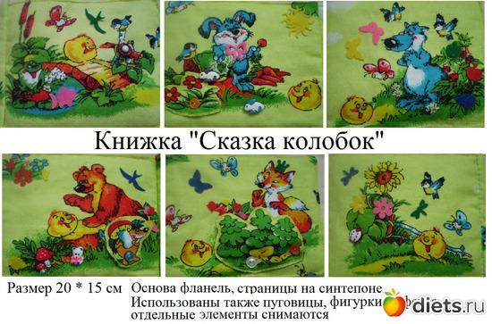 Сказка книжка малышка своими руками