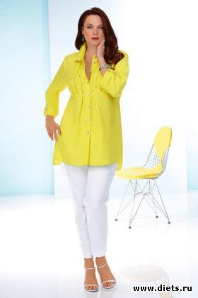 Мода для полных женщин: тенденции 2011 Многим из нас известна программа