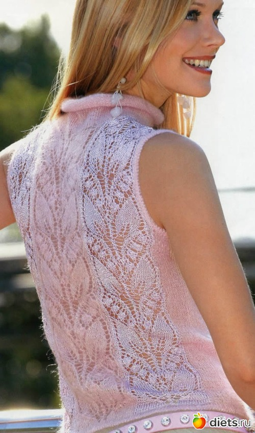 Вязание модели