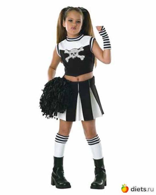 Костюмы на хэллоуин в домашних условиях для девочек