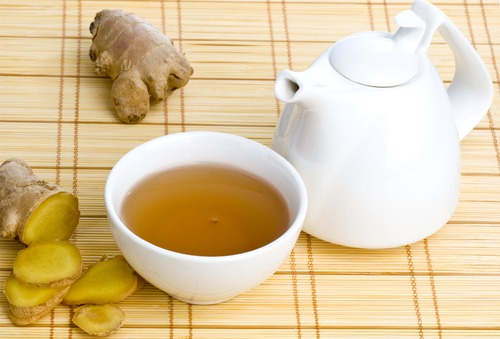 имбирный чай потенции