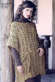 Вязанные кофты на полных женщин схемы вязания.
