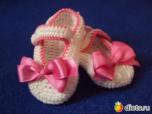 Теги: пинетки пинетки для малышек пинетки-сандалики пинетки-туфельки пинетки-сапожки вязание вязание для малышей