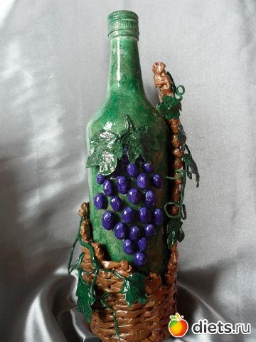 Изделия под бутылку своими руками 98