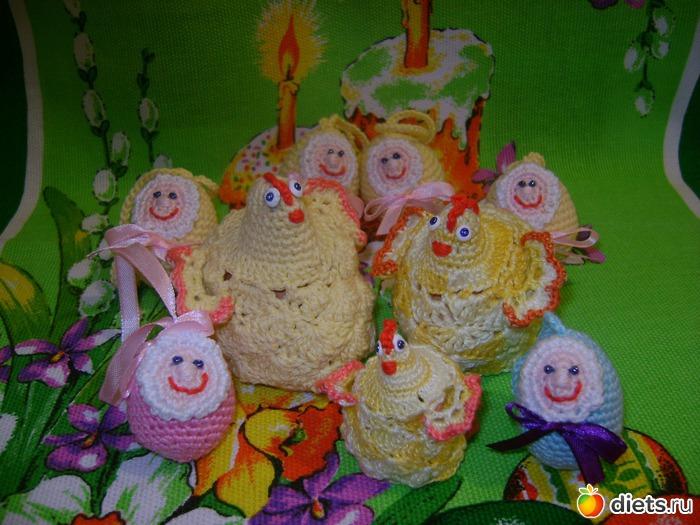 яйца на подставках,