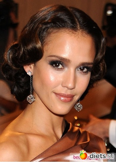 Jessica alba wedding makeup