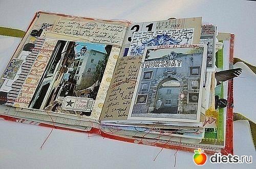 Дневник путешественника своими руками