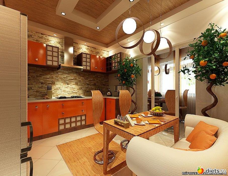 Кухня в восточном стиле.