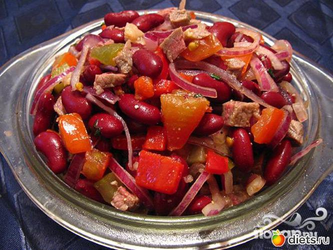 Салат из фасоли рецепты с фото
