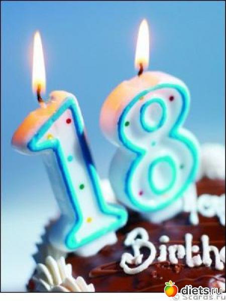 Поздравление с днем рождения девушке 18 прикольные