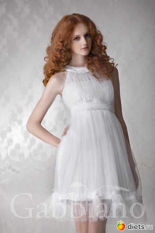 Платья с закрытым верхом фото 4