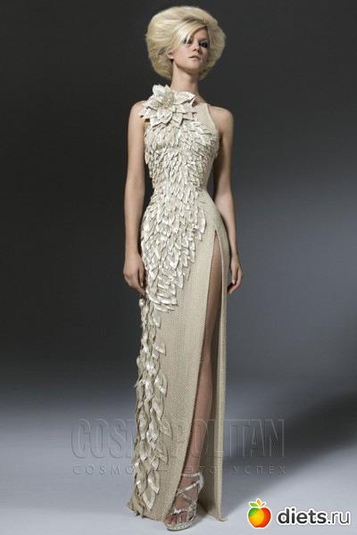 Платье было представлено на суд публики в 2006 году, но пока, по слухам, так и не нашло своего покупателя
