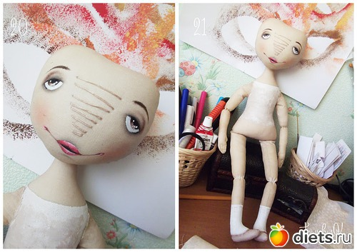 Куклы без лица своими руками
