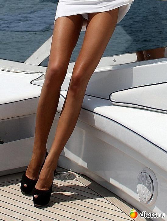 Фото как сделать ноги стройными