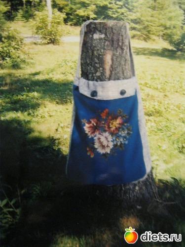 Сумка через плечо ( Торба .)  Вышивка крестом.
