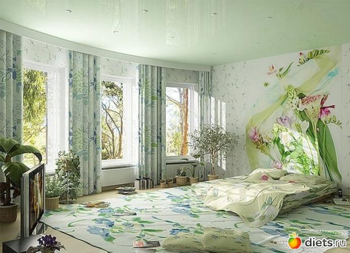 Комната для цветов в доме дизайн
