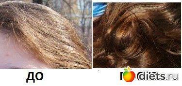 Маска для волос из желатина и сметаны