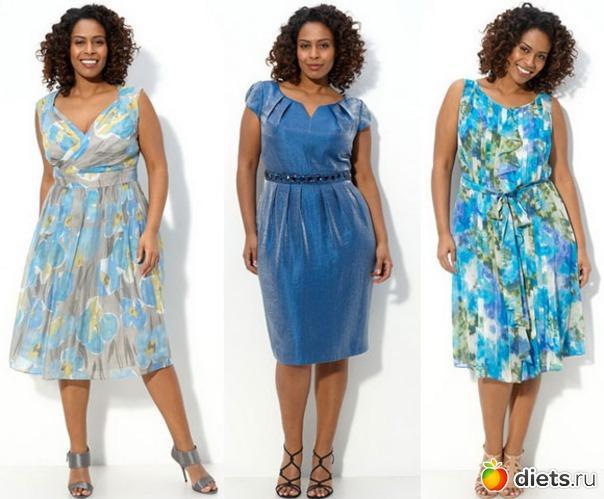 описание вечернего стиля платья
