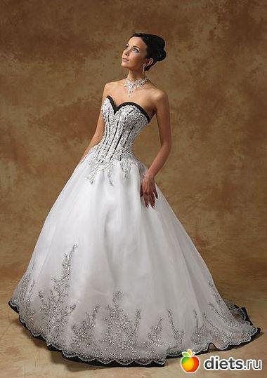платье венчальное