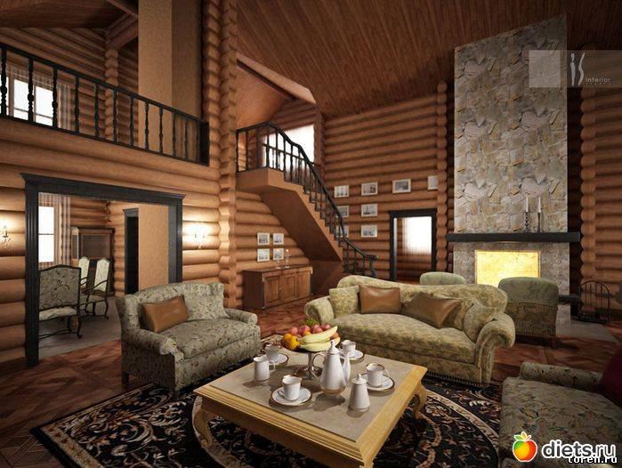 Дизайн интерьер дома внутри