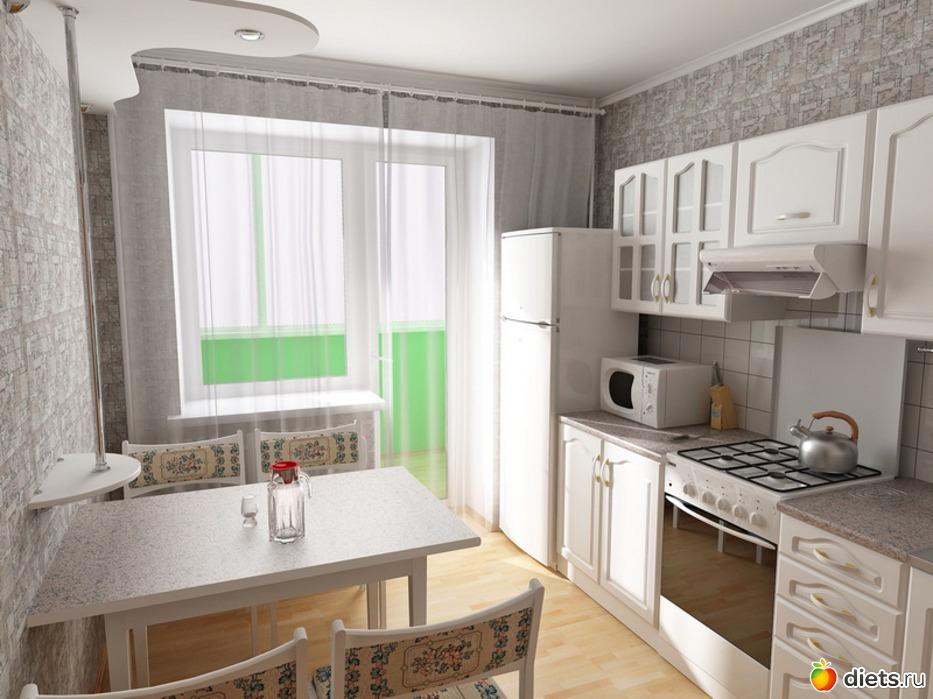 Маленькая кухня стены дизайн фото