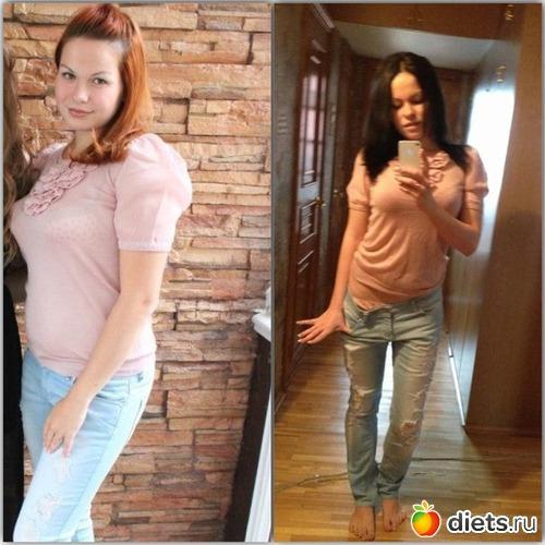 как я похудела без спорта