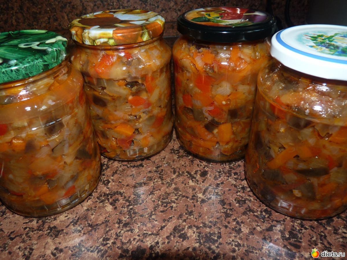 вкусный в зиму салат из баклажан на зиму рецепты