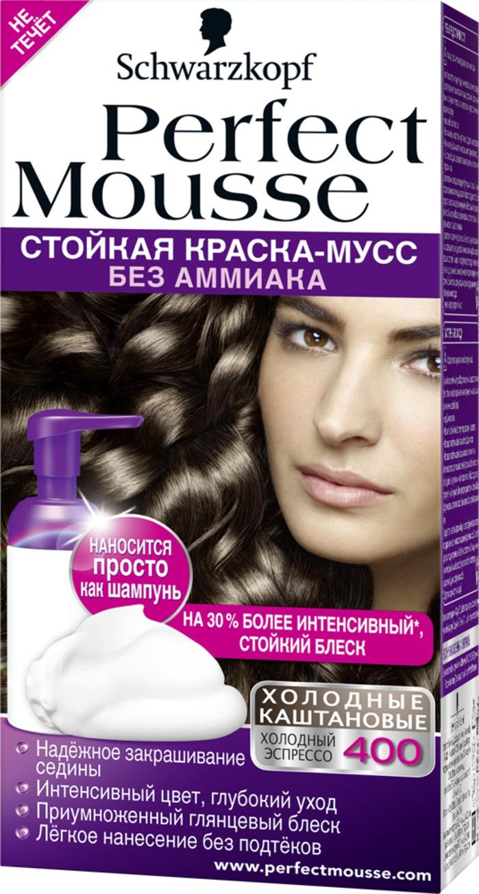 Краска мусс для волос холодные оттенки