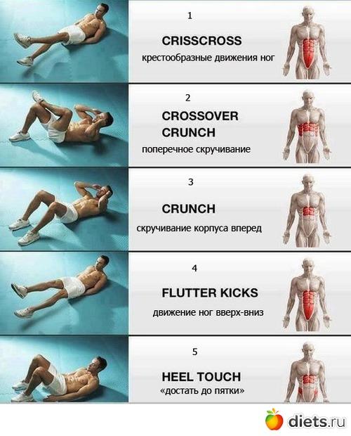 Ещё один комплекс упражнений