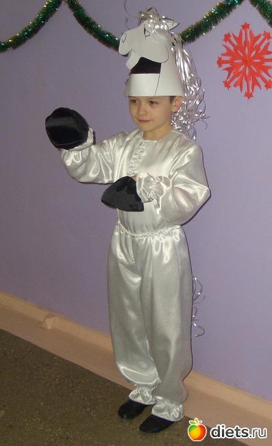 Новогодний костюм лошади для мальчика своими руками
