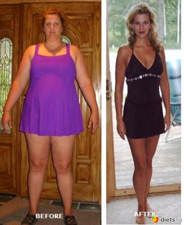 истории как похудели девушки