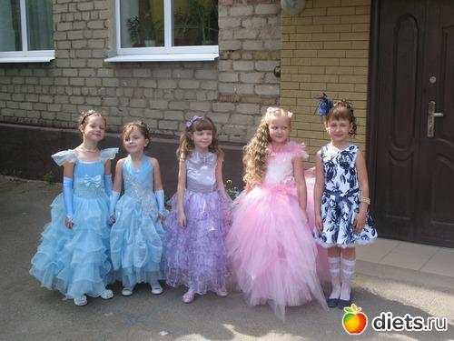 Платья на выпускной в начальной школе